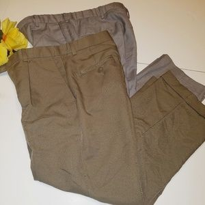 Lot of 2 khakis pant for boys Size 10